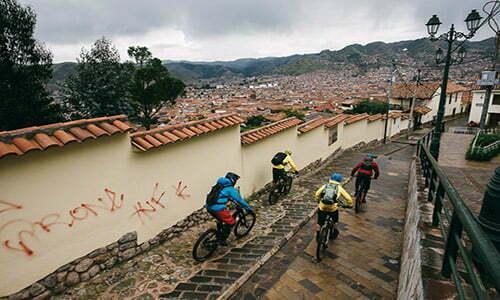 urban down hill cusco