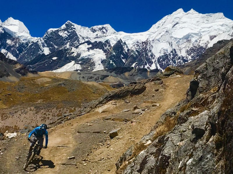 Mountain bike holiday Peru Ausangate