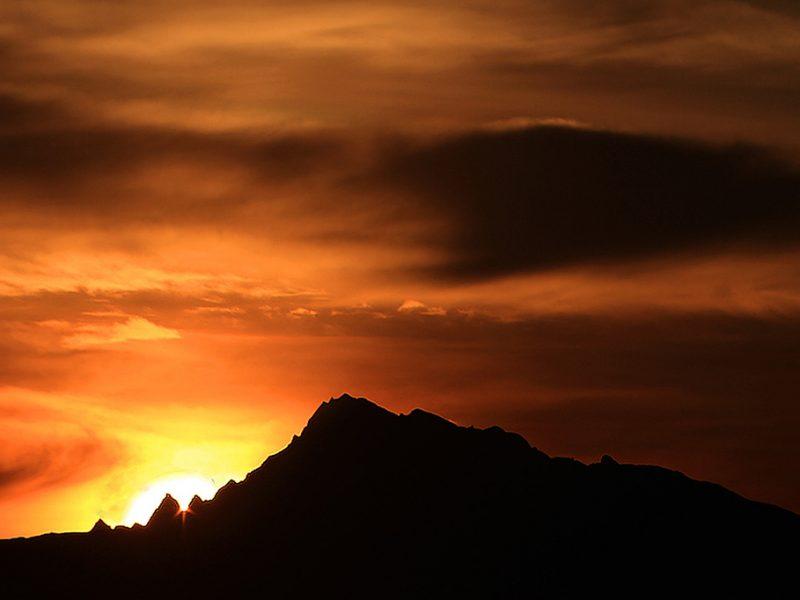 Cusco vacation sunrise