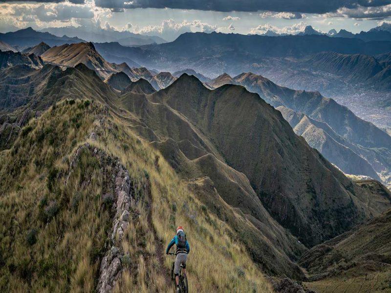 Peru mountain bike vacation on Brujo