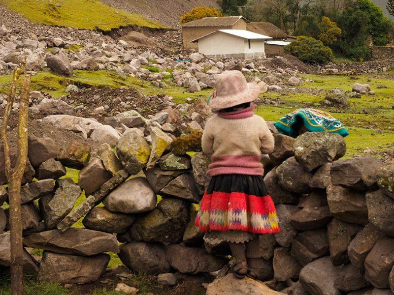 Local girl Peru