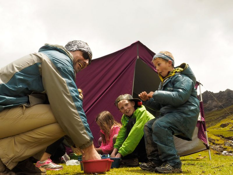 Lares Camping Trek