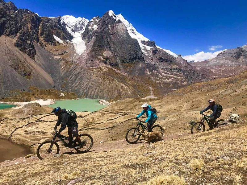Mountain biking ausangate