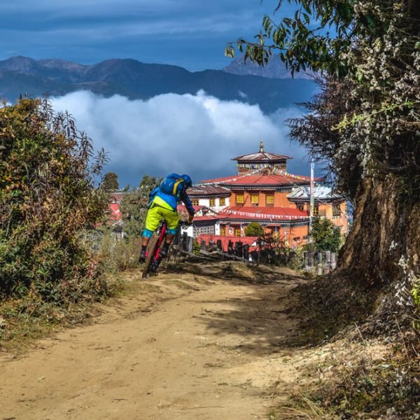 Nepal mountain Bike trip