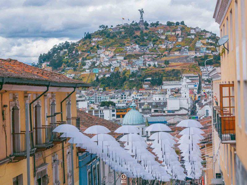 Mountain biking vacation Ecuador