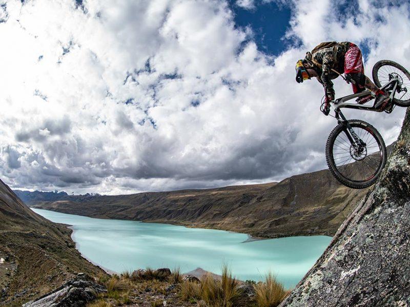 rock riding Ausangate bikepacking trip