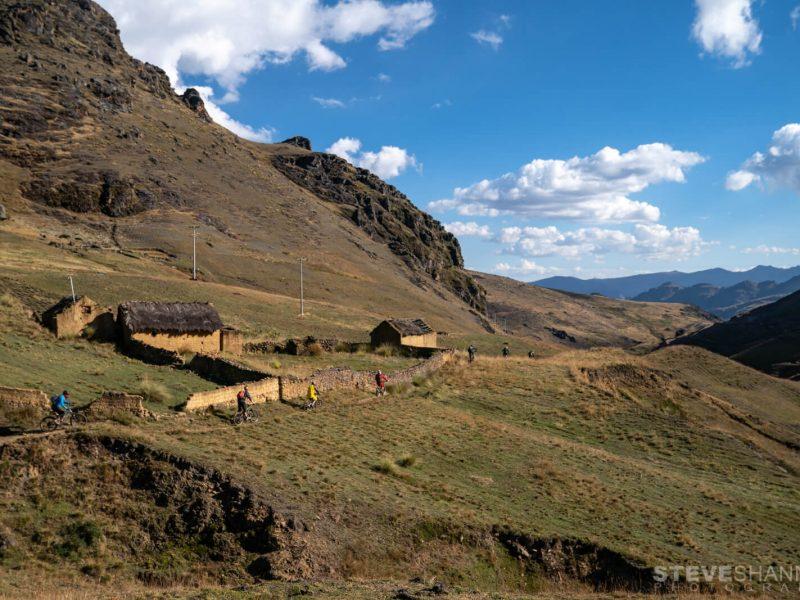 mountain biking cusco on Single trail
