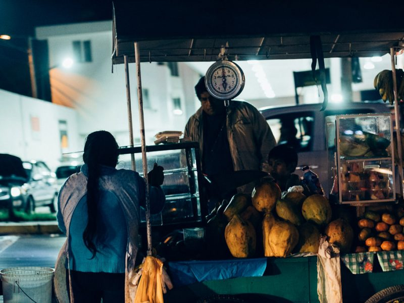Street Vendor Cusco