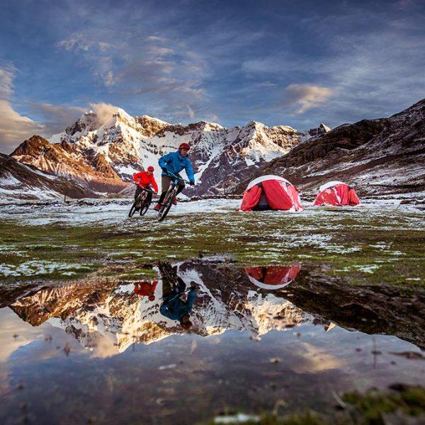 bike camping ausangate
