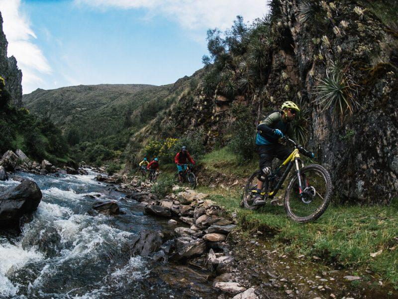 atacancha mountain bike trail Peru