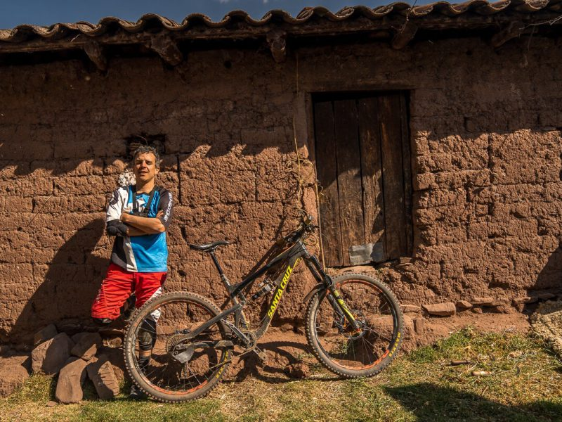 Mountain bike ausangate peru