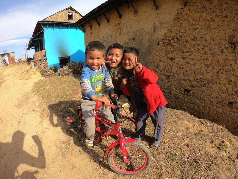 bike kids nepal