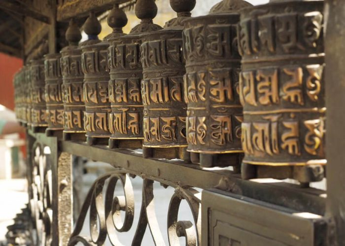 prayer wheels nepal