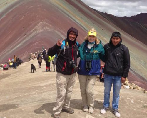 trekking local guide peru