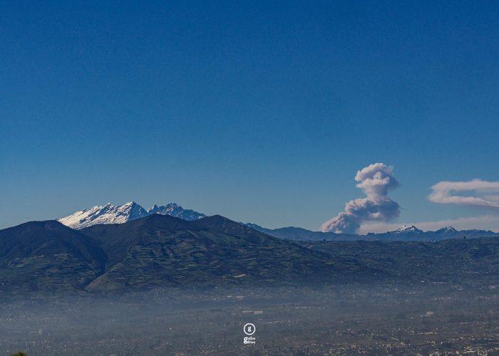 Ecuador volcanos